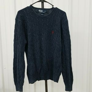 5fa27b83e Polo by Ralph Lauren Sweaters - Vintage 80s polo ralph Lauren cable knit  PY1671